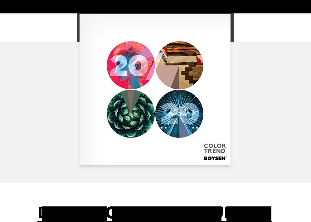 Color Trend 2020 Brochure