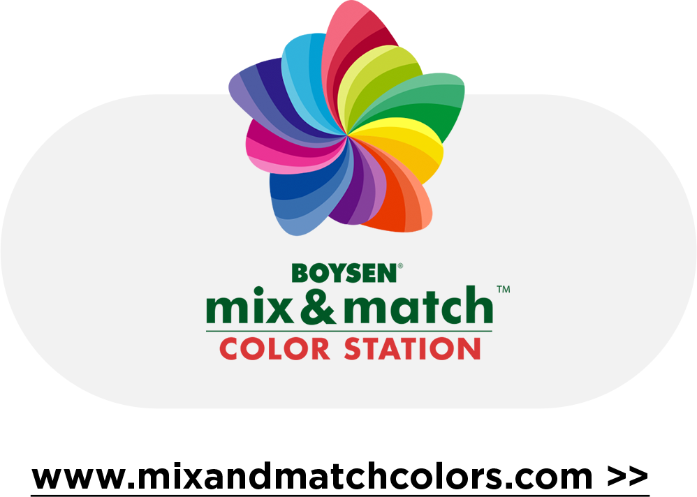 mix & match color station Available Nationwide